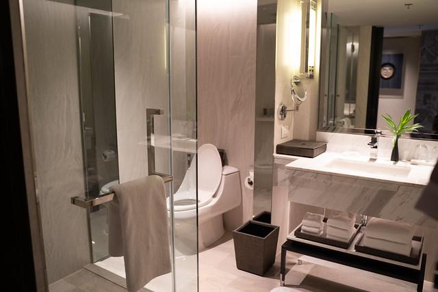 Bathroom at the JW Marriott hotel - Bangkok Thailand