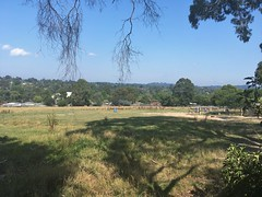 View from hill on Cambridge Road, Mooroolbark