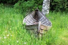 Aboned boat