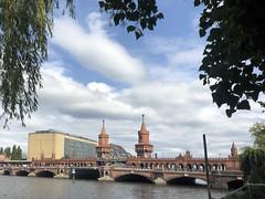 Oberbaumbrücke as seen from Kreuzberg, Berlin