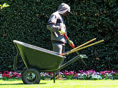City of London Cemetery Gardener 2