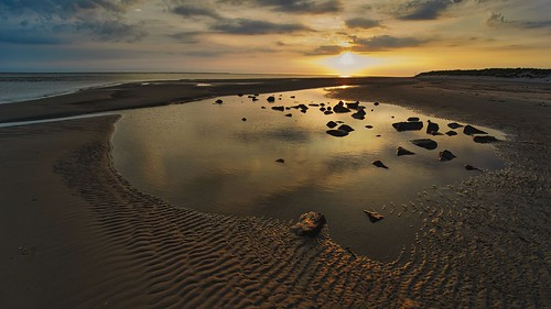 Sunset at Ameland Hollum