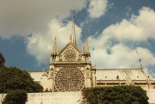 Paris Notre Dame from La Seine,