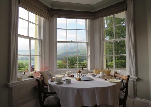 Breakfast in Blair Atholl (Scottish Highlands)