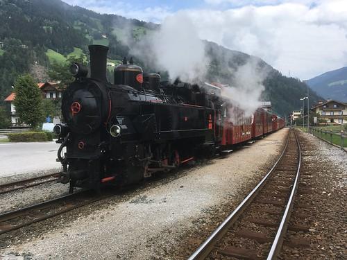 Zellbergeben station - Austria - 25 August 2019