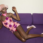 Honey Davenport Pink Hair and Outfit at Home-239