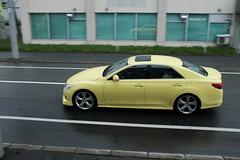 黄色のマークX?