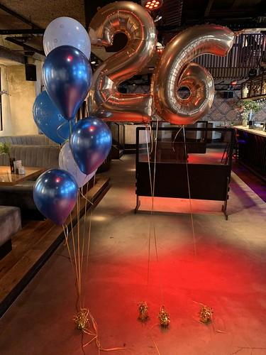Ballonboeket 26 Jaar Cafe in the City Rotterdam