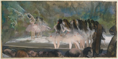 Edgar Degas, Ballet an der Pariser Oper - Ballet at the Paris Opéra
