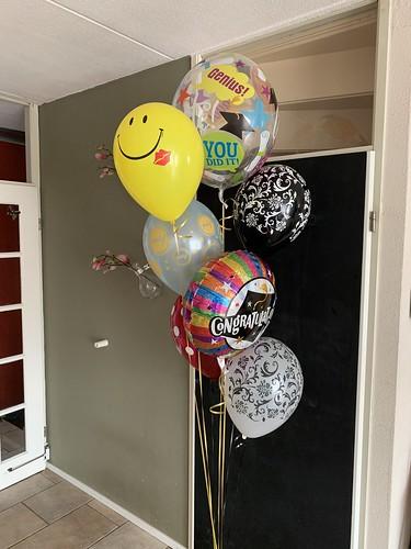 Ballonboeket Geslaagd
