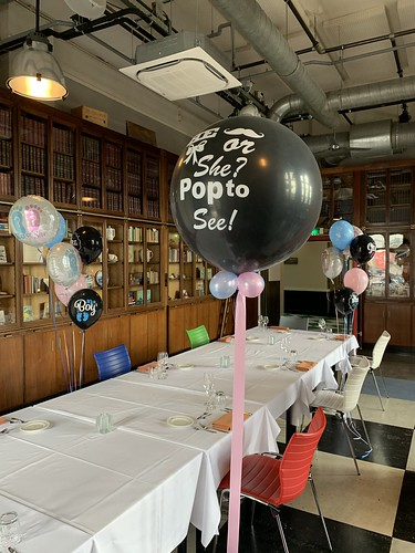 Gender Reveal Ballon Hotel New York Rotterdam