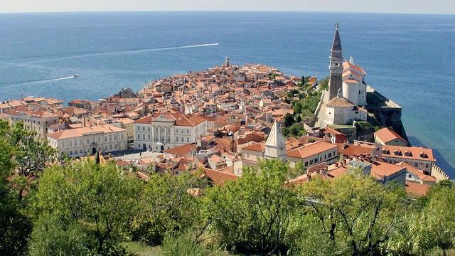 """""""Die schöne Schwester Venedigs"""", Piran in Slowenien."""