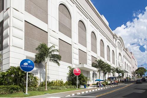fachada do shopping praça da moça