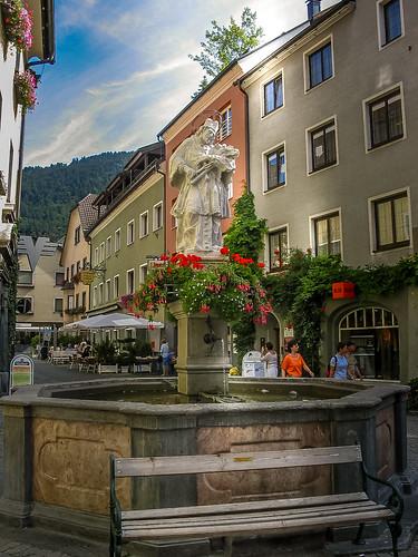 Nepomukbrunnen, Bludenz