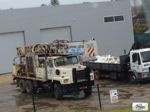 Silvino J.Silva Hendrickson VT-100 Ingersoll-Rand TH75 Drill Truck - Portugal