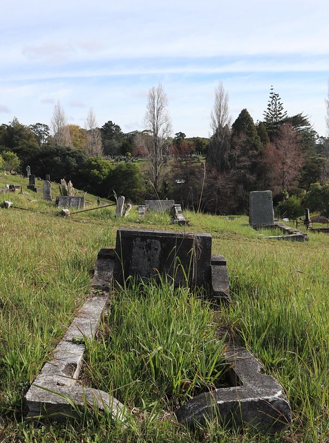 Photo:Wesleyan Division C, Row 2, Plot 39 By Discover Waikumete Cemetery