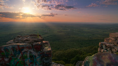 Sunset at High Rock Overlook