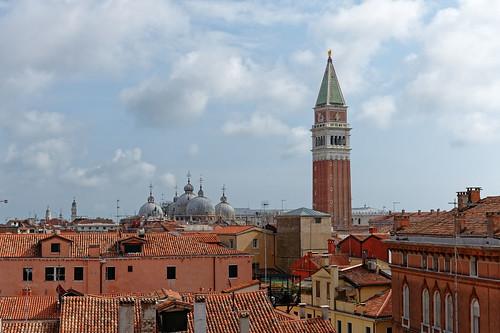Venice roofs / St. Mark's Basilica