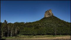 Glasshouse Mountain Coonowin on a fine winters day-1=