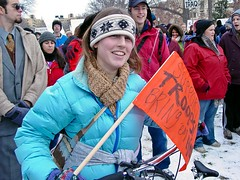 Inauguration protest, 2005 [07]