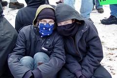 Inauguration protest, 2005 [21]