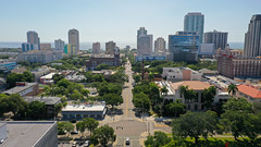 Downtown St. Petersburg Aerial 2020
