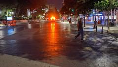 Ambulance in Union Square