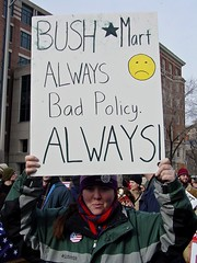 Inauguration protest, 2005 [24]