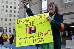 Inauguration protest, 2005 [25]