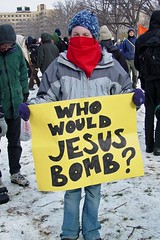Inauguration protest, 2005 [19]