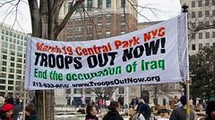 Inauguration protest, 2005 [26]