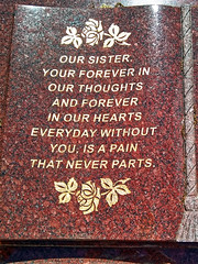 Bad poor grammar grave mistakes monument City of London Cemetery 1