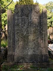 Art Deco gravestone City of London Cemetery Walker 1933