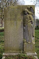 Art Deco gravestone - City of London Cemetery and Crematorium - Pauline Mary Spinks