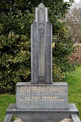 Art Deco gravestone - City of London Cemetery and Crematorium - Charles Frederick and Daisy Arbocast