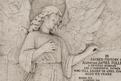 Alderman James Pullen City of London Cemetery monument 4 DXO FilmPack Ilford XP2 Expresso
