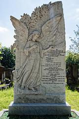 Alderman James Pullen City of London Cemetery monument 3 lighter