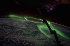 Southern Aurora seen from ISS