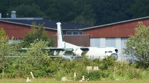 Fokker F.27-100 c/n 10245 registration SE-KZD
