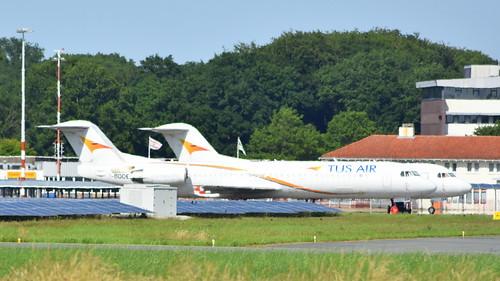 Fokker 100 c/n 11427 Tus Airways registration 5B-DDE