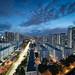 Dusk at Boon Keng, Singapore