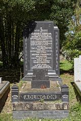 Art Deco grave monument - City of London Cemetery and Crematorium ~ Adlington dedication