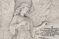 Alderman James Pullen City of London Cemetery monument 4 DXO FilmPack Ilford Delta 400
