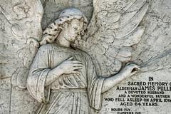 Alderman James Pullen City of London Cemetery monument 4 darkest