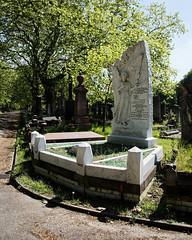 Alderman James Pullen City of London Cemetery monument 2 lighter