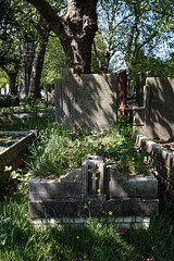 Art Deco grave City of London Cemetery Carleton 1935 darker cooler