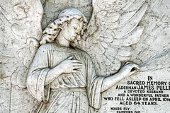 Alderman James Pullen City of London Cemetery monument 4 lightest