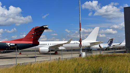 Airbus A220-300 c/n 55065 registration VP-BMZ