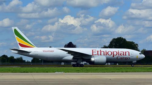 Boeing 777-F60 c/n 42032 Ethiopian Airlines registration ET-ARI