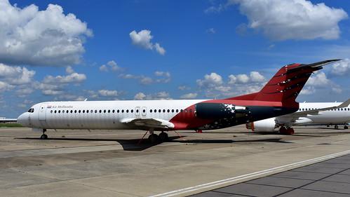Fokker 100 c/n 11493 Air Hollandia registration PH-ABW